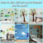 EvgieNev Wall Decals Giveaway (Ends 6/14)