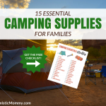 15 Essential Camping Supplies for Families