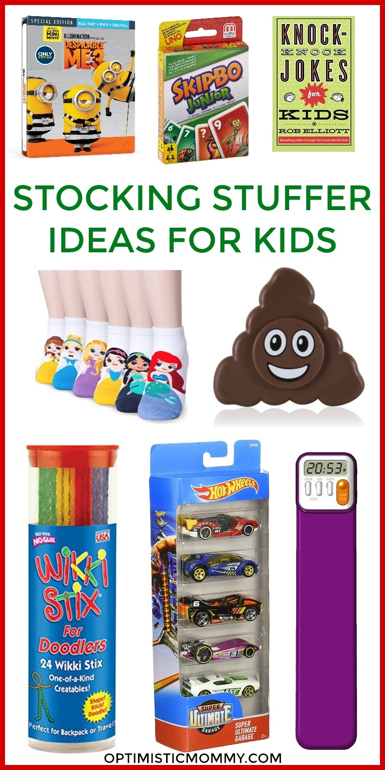 Stocking Stuffer Ideas for Kids - Make your holiday shopping easier with these ideas for stocking stuffers!