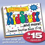 Enjoy Savings On Family Activities with the KidStuff Coupon Book – Now On Sale!