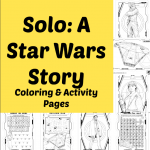 Solo: A Star Wars Story Coloring & Activity Pages #HanSolo