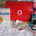 Summer First Aid Kit Checklist