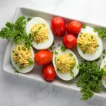 Tomato Bacon Ranch Deviled Eggs Recipe