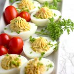 Tomato Bacon Ranch Deviled Eggs Recipe + Egg Tips & Info!