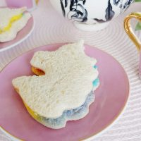Unicorn Rainbow Sandwiches