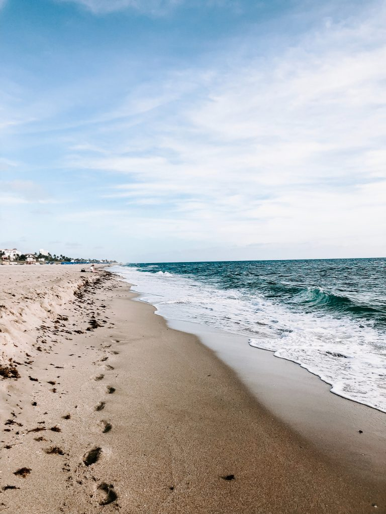Florida sandy beach