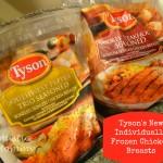 Tyson Individually Frozen Chicken in NEW Flavors - Smokey Steakhouse Seasoned & Southwest Pepper Trio Seasoned