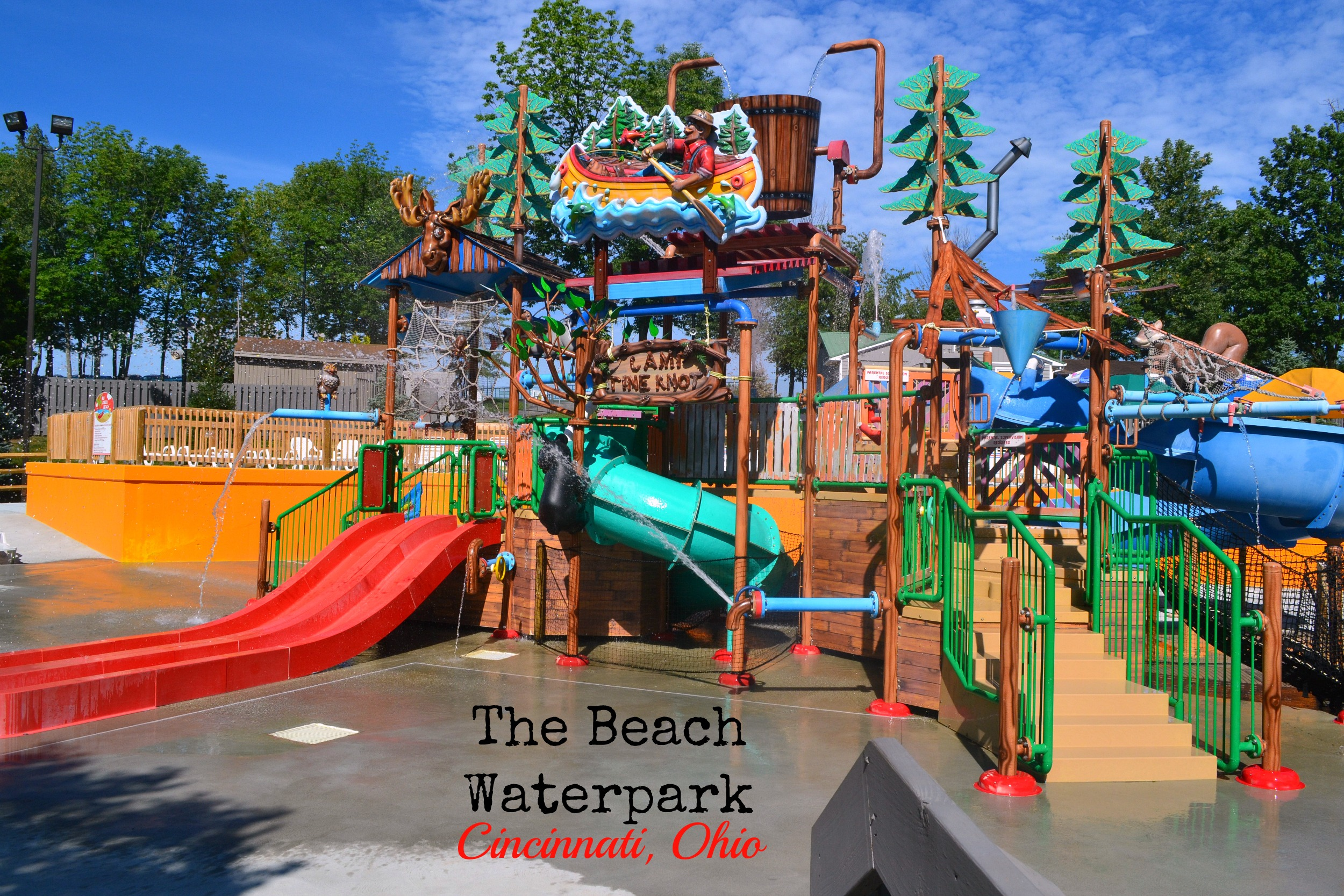 Things To Do In Cincinnati The Beach Waterpark Creek Optimistic Mommy