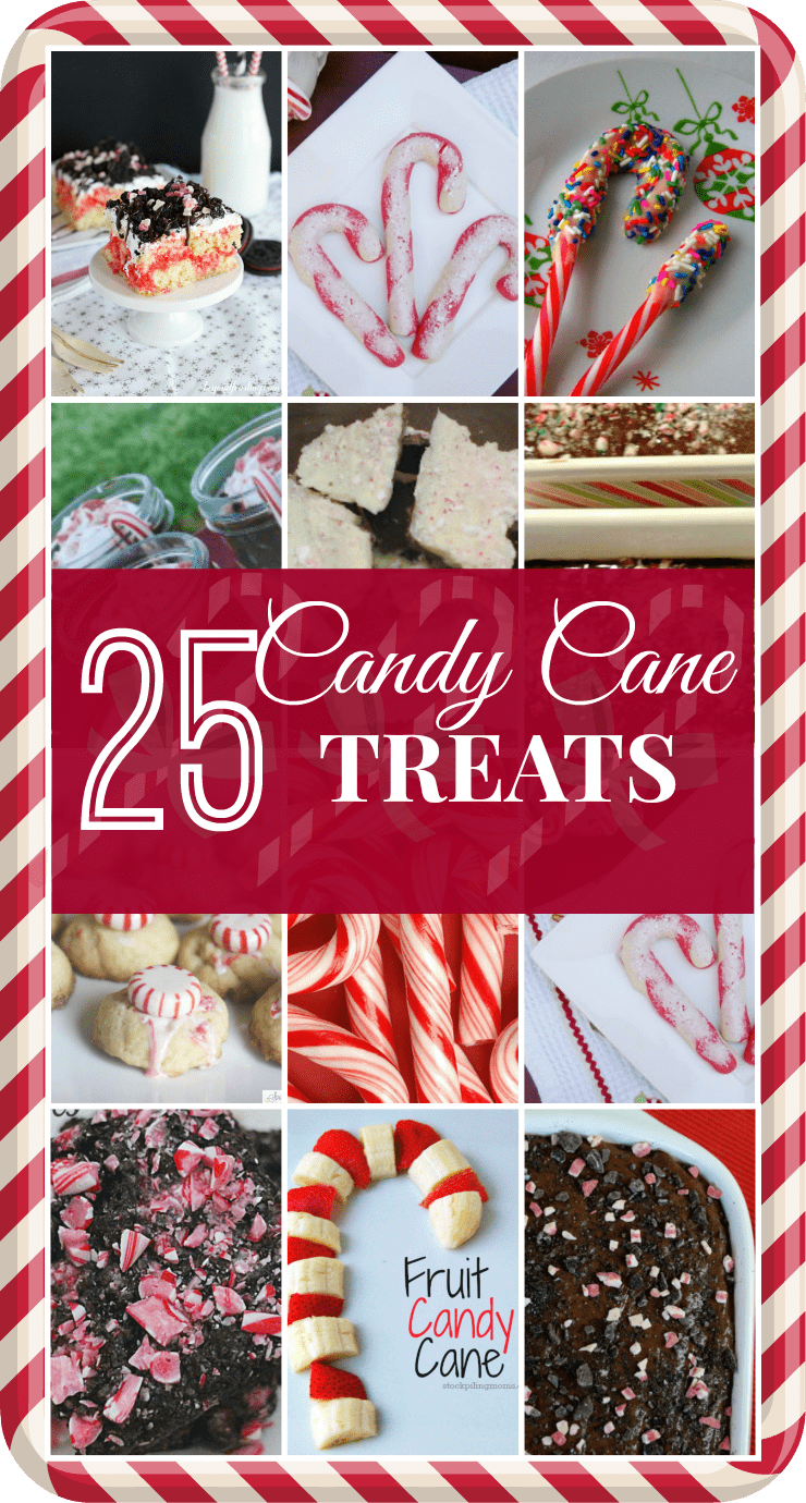 25 Candy Cane Treats | Optimistic Mommy