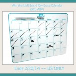 UM! Brand Dry Erase Board Giveaway (Ends 2/20 Midnight EST) | Optimistic Mommy
