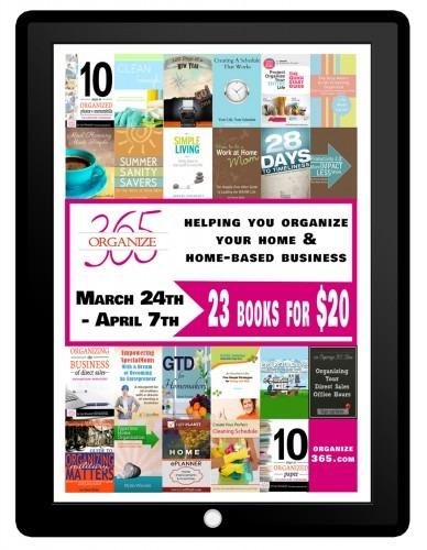 All Organized eBook Bundle! (Ends April 7th) | Optimistic Mommy