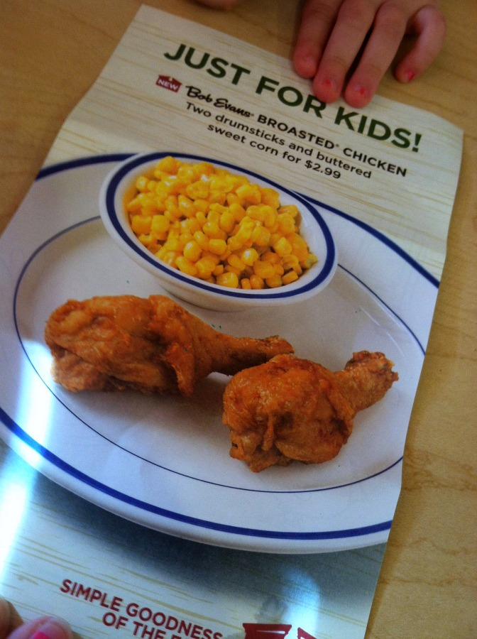 Bob Evans Broasted Chicken Meal (+Gift Card Giveaway - Ends 5/5) | Optimistic Mommy