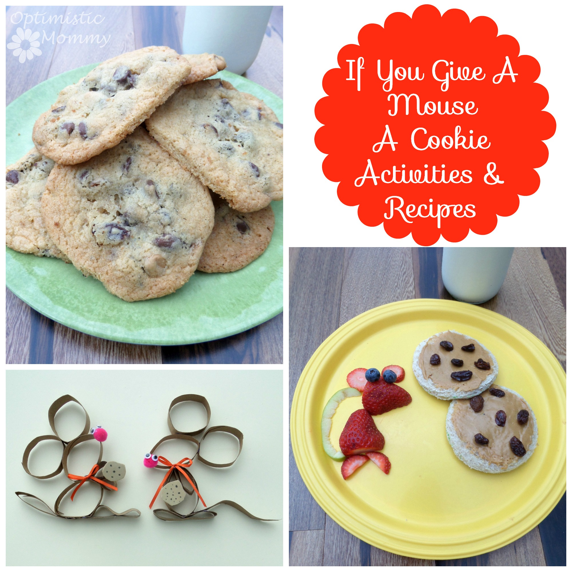 If You Give a Mouse a Cookie Activities & Recipes | Optimistic Mommy