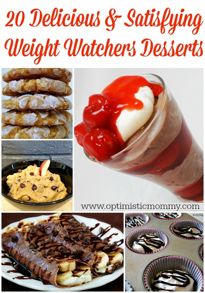 20 Delicious and Satisfying Weight Watchers Desserts