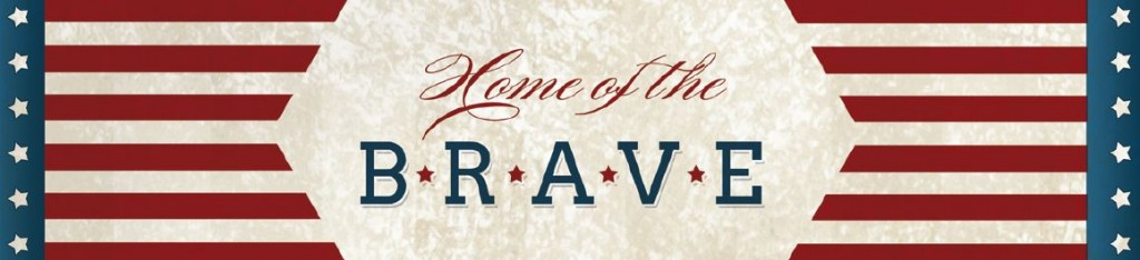 Home Of The Brave Water Bottle Label Patriotic Printables | Optimistic Mommy