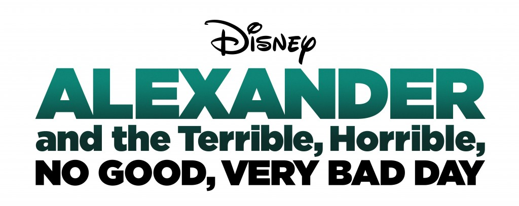 Alexander and the Terrible, Horrible, No Good, Very Bad Day Logo