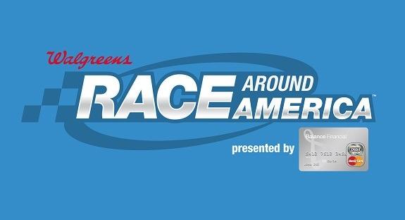 Walgreens Race Around America Logo