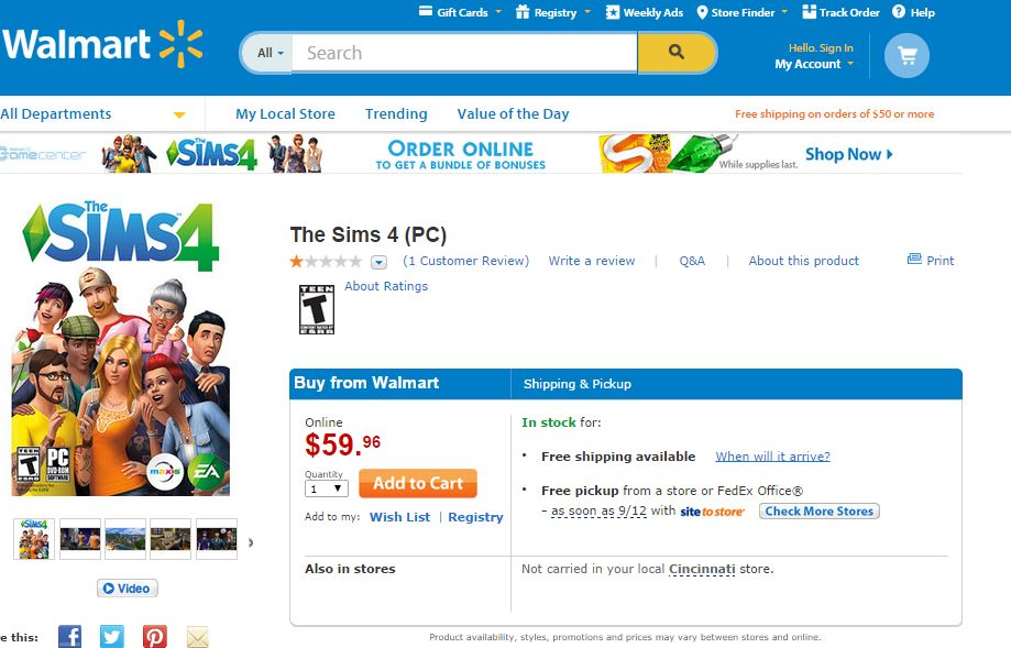My Excitement About The Sims™ 4 Release! #TheSims4 #Shop | Optimistic Mommy