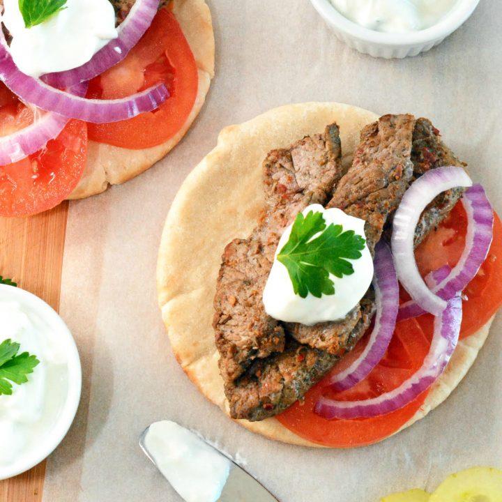 steak gyros
