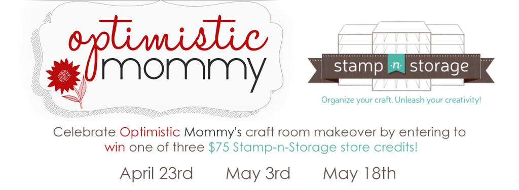 Stamp-n-Storage & Optimistic Mommy Contest