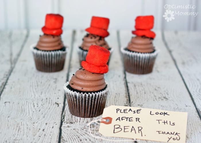 Paddington Cupcakes #Paddington #MovieNight | Optimistic Mommy