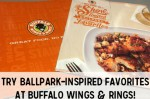Buffalo Wings & Rings Ballpark-Inspired Menu + Free Printable