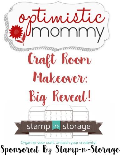 Optimistic Mommy Craft Room Makeover - Big Reveal