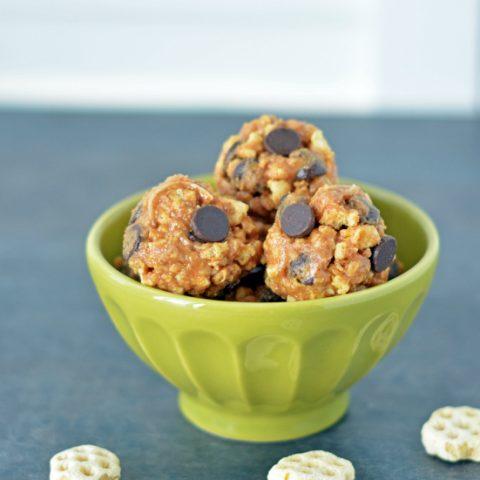 Honeycomb No-Bake Protein Balls