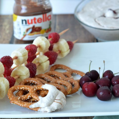 Nutella Cool Whip Dip