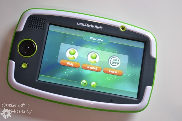 LeapFrog LeapPad Platinum & Imagicard Review