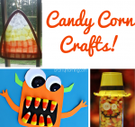 30 Fun Candy Corn Crafts | Optimistic Mommy