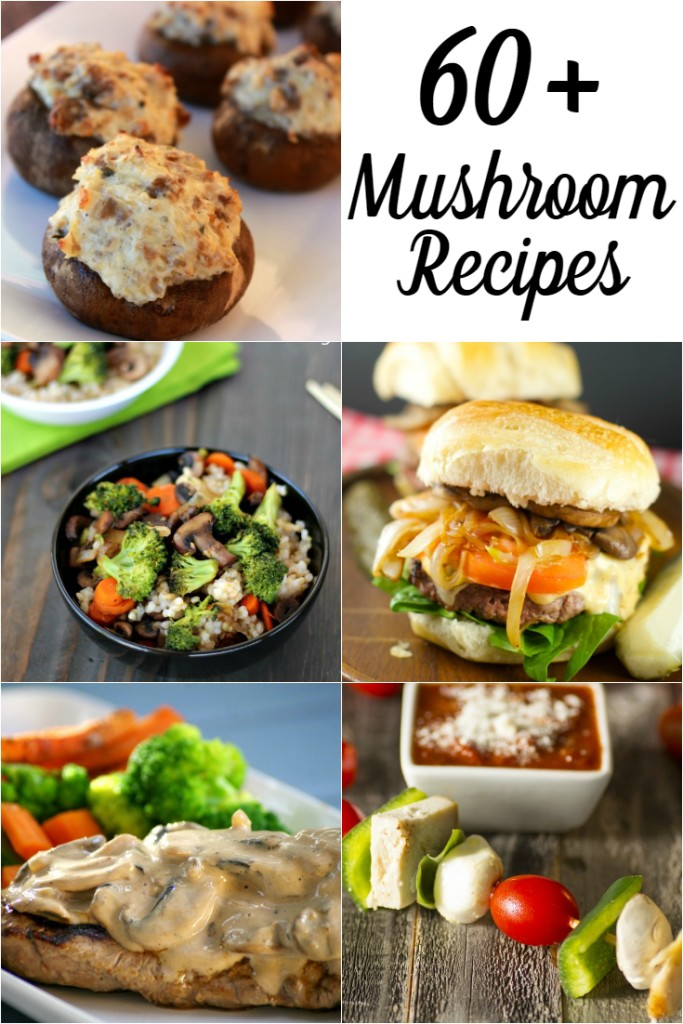 60+ Mushroom Recipes in Honor of National Mushroom Month | Optimistic Mommy