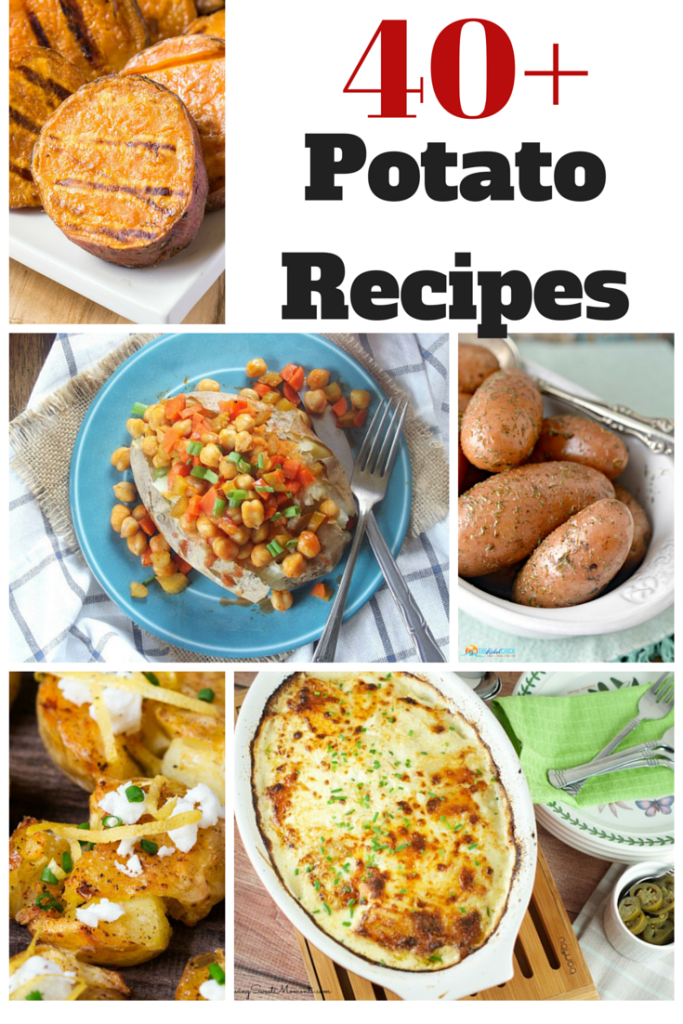 40+ Potato Recipes in Honor of National Potato Month | Optimistic Mommy