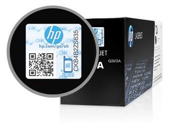 HP ink security seal