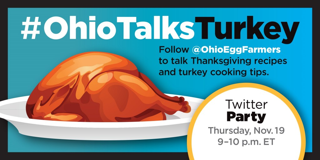 Ohio Talks Turkey Twitter Party Invitation- Twitter