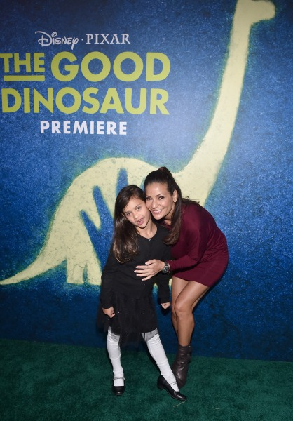 Actress Constance Marie (R) and Luna Marie Katich attends the World Premiere Of Disney-Pixar's THE GOOD DINOSAUR at the El Capitan Theatre on November 17, 2015 in Hollywood, California. (Photo by Alberto E. Rodriguez/Getty Images for Disney)