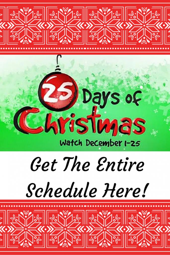 Freeform's 25 Days of Christmas Lineup