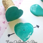 Easy Valentine's Day Heart Stamps