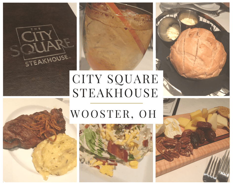 The City Square Steakhouse in Wooster Ohio
