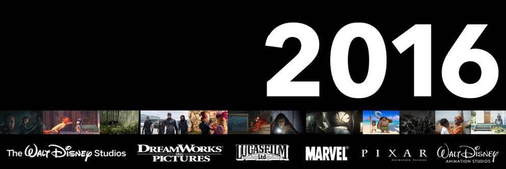 Walt Disney Studios 2016 Films