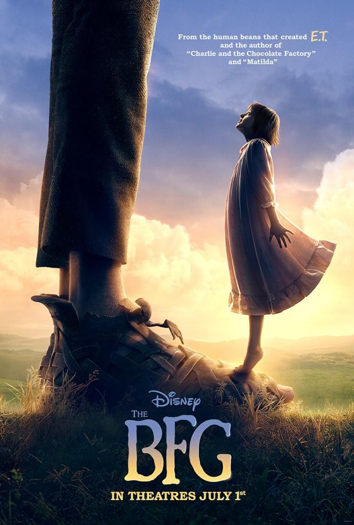 The BFG Teaser Poster