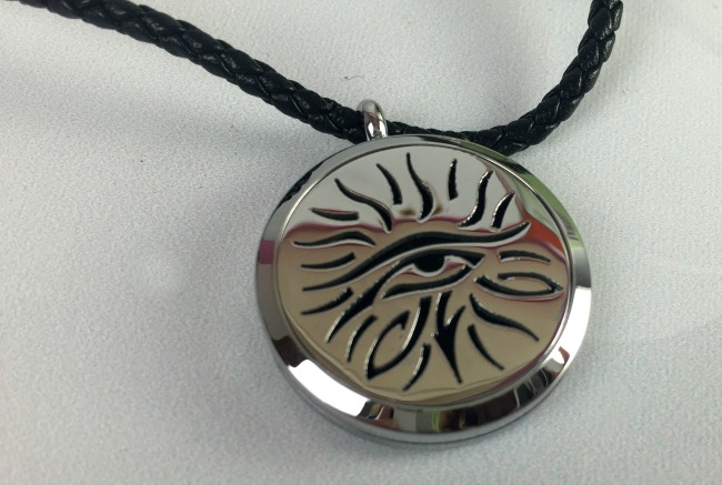 Fine Line Living Essential Oil Necklace Eye of Knowledge