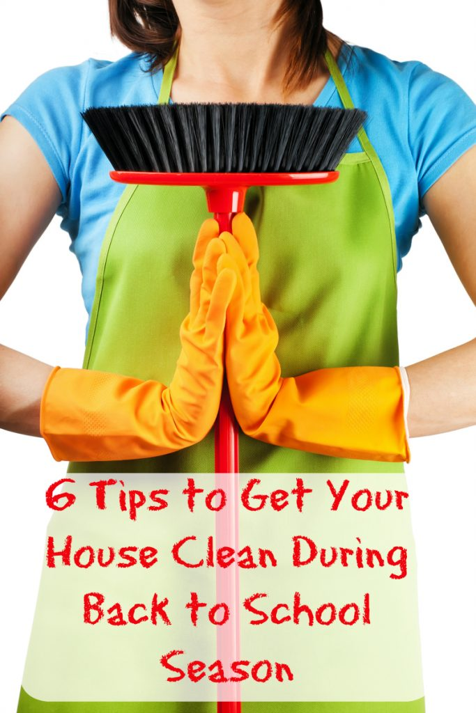 Tips to Get Your House Clean During Back to School Season