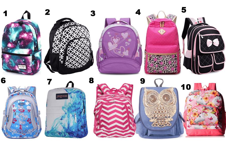 50 Girls Backpacks - 01