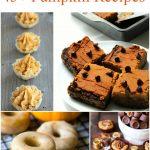 National Pumpkin Day: 45+ Pumpkin Recipes   Optimistic Mommy