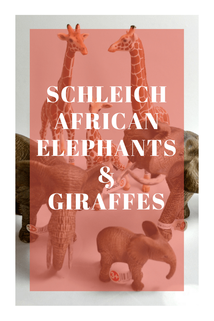 A Fun Adventure with Schleich's Giraffes and African Elephants | Optimistic Mommy