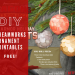 It's not too late to deck your halls with some fun DIY Dreamworks Ornaments. These printables make crafting these ornaments easy.