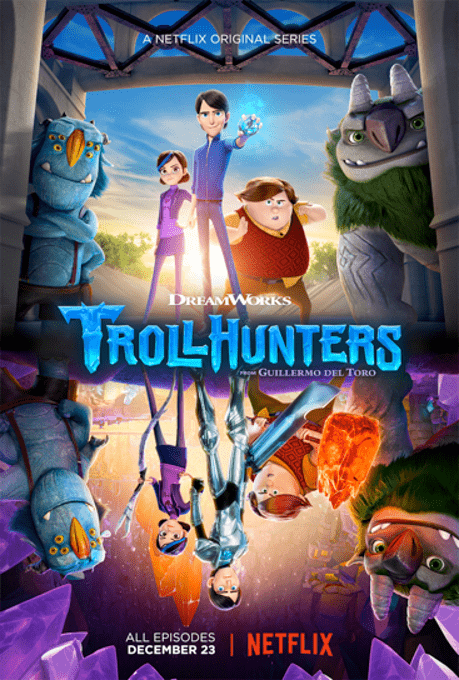 Dreamworks' Trollhunters is now available on Netflix!