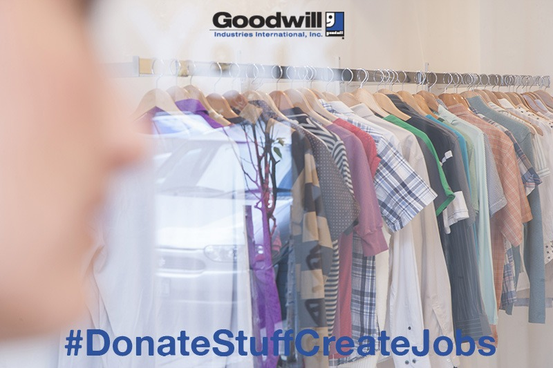 Find out how you can help during the holidays with Goodwill. #DonateStuffCreateJobs