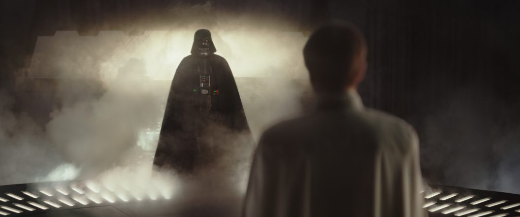 Darth Vader in ROGUE ONE: A STAR WARS STORY, in theaters December 16, 2016!